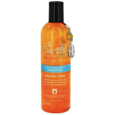 Shampoo-Brazilian Citrus Color Treated Earthly Elements/Natural eSystems 12 oz Liquid