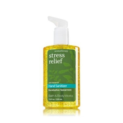 Bath & Body Works Eucalyptus Spearmint Aromatherapy Stress Relief Full Size Hand Sanitizer Anti-bacterial Gel 7.6 fl oz