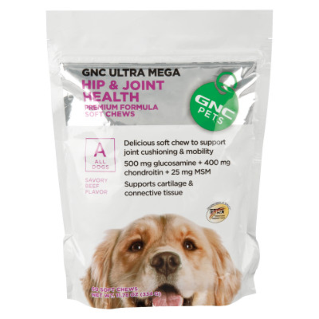 GNC Pets GNC Ultra Mega Hip & Joint Health Dog Soft Chew