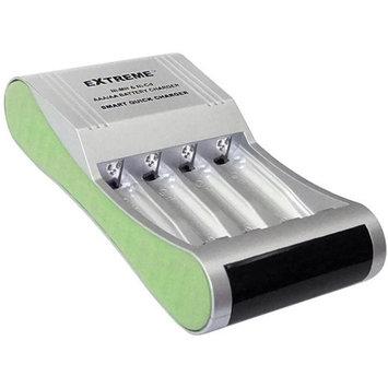 PREMIERTEK Premiertek Smart Fast Ni-MH Ni-Cd AA/AAA 4-Channel Battery Rapid Charger