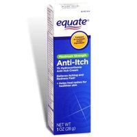 Equate - Anti-Itch Cream, Hydrocortisone 1%, Maximum Strength, 1 oz (Compare to Cortaid)