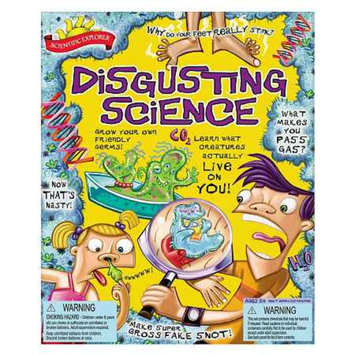 Scientific Explorer Disgusting Science Kit Ages 8 and up