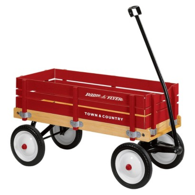 Radio Flyer Town & Country Wagon #24