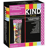 Kind Plus Pomegranate Blueberry Pistachio + Antioxidants Fruit & Nut Bars