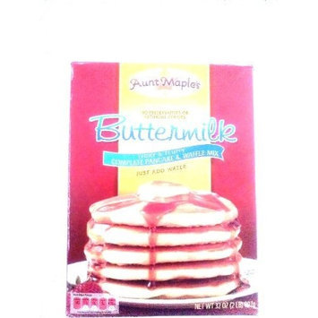 Aunt Maple's Buttermilk Complete Pancake and Waffle Mix, 32-Ounce