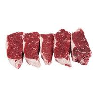 USDA Choice Beef Loin New York Strip Steak Boneless Value Pack