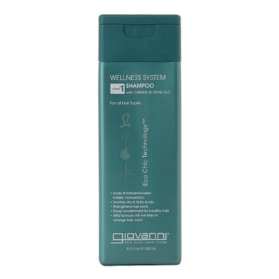 Giovanni Wellness System Shampoo with Chinese Botanicals