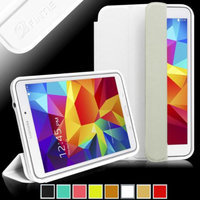 Fintie Ultra Slim Lightweight All-around Protection Omni Case Cover for Samsung Galaxy Tab 4 7.0 Tablet, White