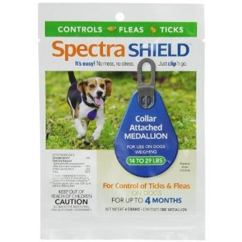 Iowa Veterinary Supply Co SpectraShield Flea/Tick Tag For Dogs 14-29lbs