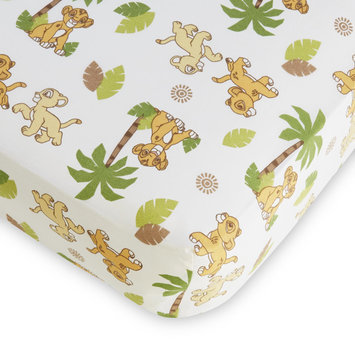 Crown Crafts Infant Products, Inc. Disney Baby Lion King Fitted Crib Sheet - CROWN CRAFTS INFANT PRODUCTS, INC.