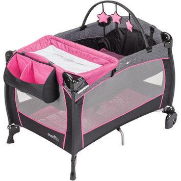Evenflo Portable BabySuite Deluxe Playard, Koi Party Pink