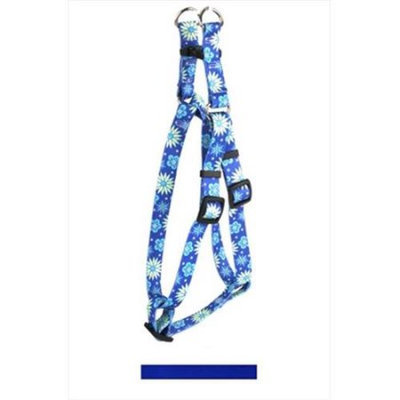 Yellow Dog Design SI-RBL103L Solid Royal Blue Step-In Harness - Large