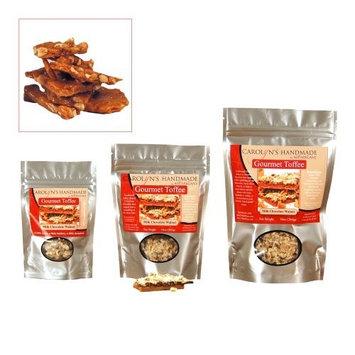 Carolyn's Handmade Gourmet Platinum Snack Bag, Peanut Brittle, 4 Ounce