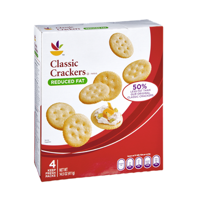 Ahold Reduced Fat Classic Crackers - 4 CT