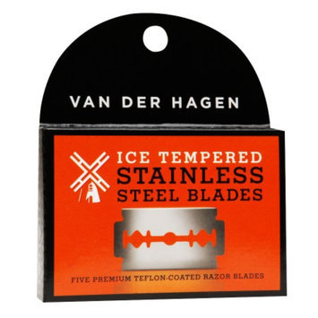 Van der Hagen Safety Razor Blades - 5 pack