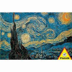 Piatnik Van Gogh Starry Night Jigsaw Puzzle Ages 12 and up