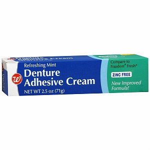 Walgreens Denture Cream Fresh