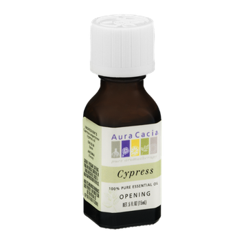 Aura Cacia Pure Aromatherapy 100% Pure Essential Oil Cypress