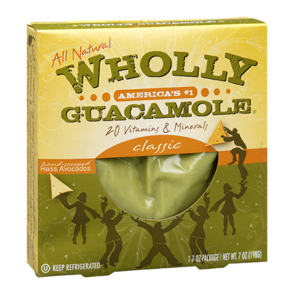 Wholly Guacamole Classic All Natural Hand-Scooped Hass Avocados