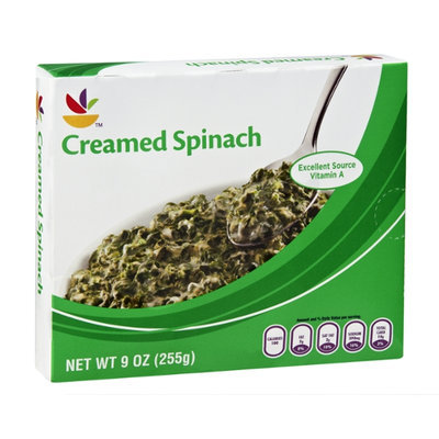 Ahold Creamed Spinach