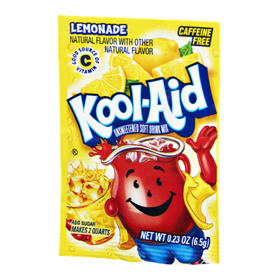 Kool-Aid Lemonade Caffeine Free Unsweetened Soft Drink Mix