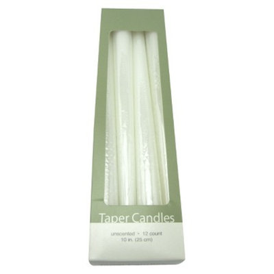 Room Essentials White Taper Candles 12Ct