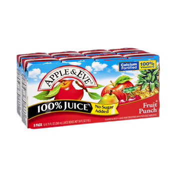 Apple & Eve No Sugar Added Fruit Punch 100% Juice
