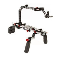 Shape Canon C100 C300 C500 EVF Shoulder Mount, LWS Accessory Platform, Paparazzi Handle