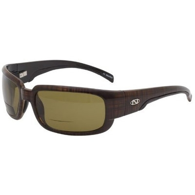 Onos Loon 124AM250 AMBER Lens Polarized +2.50 ADD Reading Sunglasses
