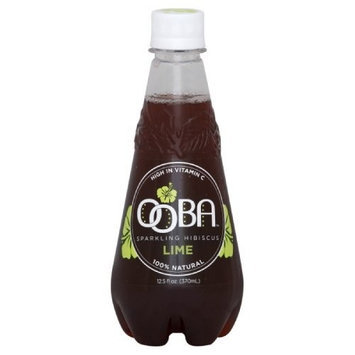 Ooba Hibiscus n Lime, 12.5000-ounces (Pack of12)