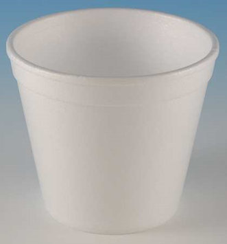 WINCUP F8M Container, Disposable, White, 8 Oz, PK 1000