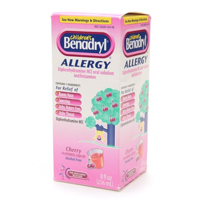 Children's Benadryl Allergy