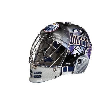 Franklin Sports NHL Edmonton Oilers Mini Goalie Mask