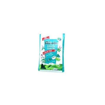 Ricola Ricola Drops, Sugar Free Green Tea with Echinacea Cough 12Bags display ( Twelve Pack) ( Value Bulk Multi-pack)
