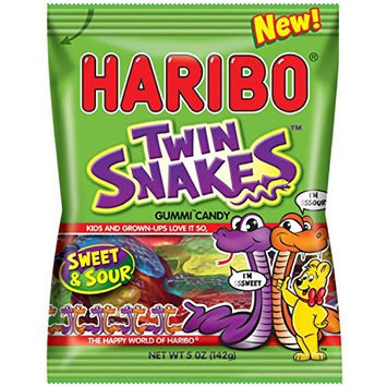 Haribo Twin Snakes Sweet & Sour Gummy Candy