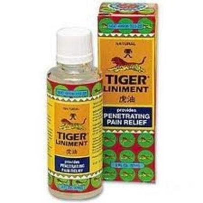 Tiger Balm Liniment from Prince of Peace 2 Oz - 57 ml Bottle