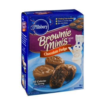 Pillsbury Brownie Minis Chocolate Fudge Brownie Mix