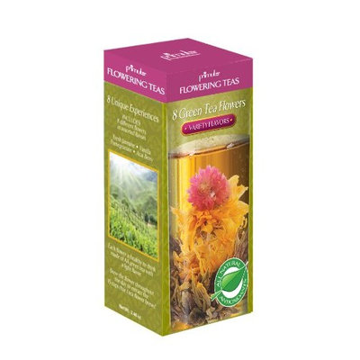Primula Flowering Green Teas with Variety Flavors
