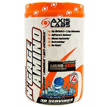 Axis Labs N'GAGE AMINO, Blue Snow Cone, 30 - 9.5g servings