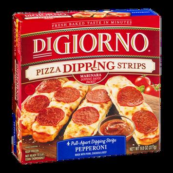 DiGiorno Pizza Dipping Strips Pepperoni - 4 CT