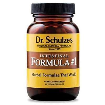 Dr Schulze Intestinal Formula #1 Colon Bowel Cleanse Detox Supplement Formula