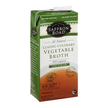 Saffron Road Classic Culinary Vegetable Broth
