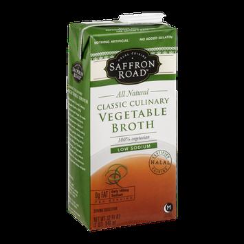 Saffron Road Classic Culinary Vegetable Broth