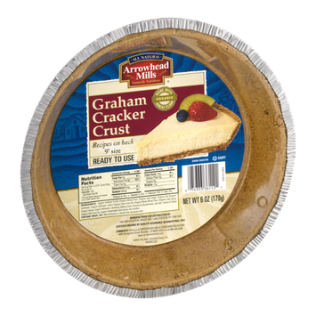 Arrowhead Mills Graham Cracker Crust 9