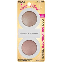 Hard Candy Just Glow! Baked Illuminating Powder Duo, 1063 Candle Lit, 0.41 oz