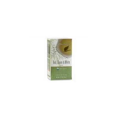 Davidson's Tea Davidson Organic Tea 2528 Red, Green And White Tea, Box of 25 Tea Bags