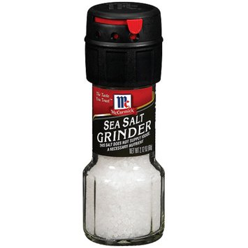 McCormick Sea Salt Grinder 2.12-oz.