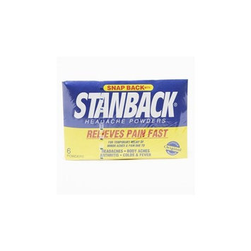 Stanback 6's (Pack of 12)
