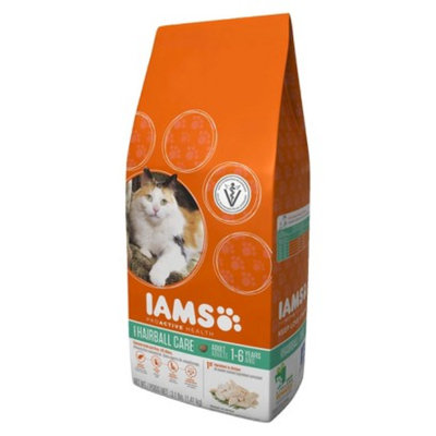 IAMS Iams ProActive Health Adult Hairball Care Dry Cat Food 3.1 lbs