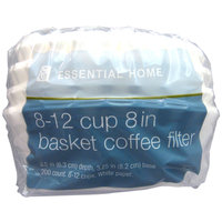 Kmart Corporation Essential Home 8 12 Cup Basket Coffee Filters 200 count - KMART CORPORATION